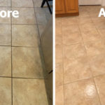 grout cleaning by The Grout Medic Fox River