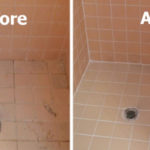 shower regrouting by TheGrout Medic