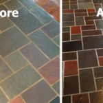 tile cleaning and sealing by The Grout Medic